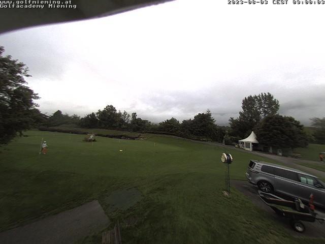 Webcam Greenvieh - Golfpark Mieminger Plateau